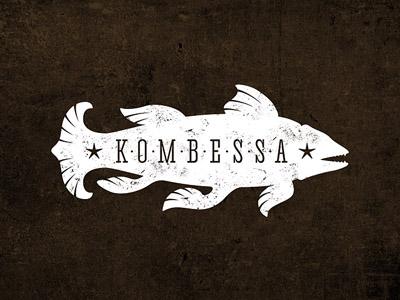 Kombessa ancient fish vintage grunge music group record
