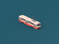 Isometric Tram
