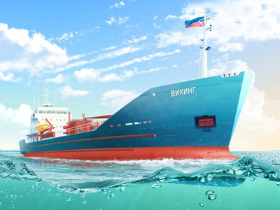 A tank ship ship sea water vessel russia