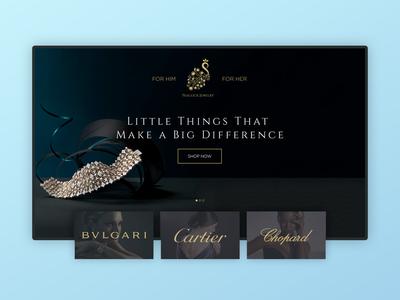 Jewelry Store E-Commerce Website