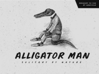 Alligator Man Font