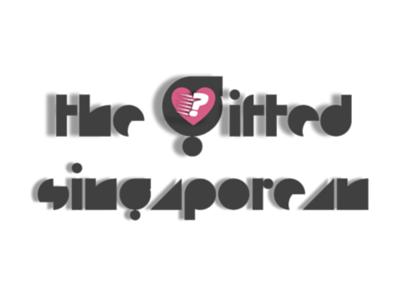 Logo Design: The Gifted Singaporean (Black)