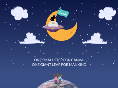 One Small Step for Canva, One Giant Leap for Mankind canvaup canva