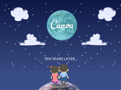 10 years later... canvaup canva