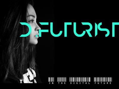 Digital Futurist graphic design logo design