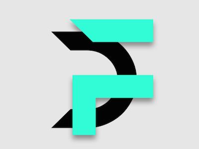 Digital Futurist Logo graphic design logo