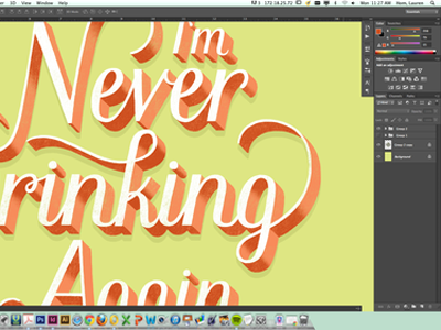 Daily Dishonesty 3D Type Tutorial