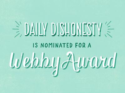 Webby Awards Round 2!