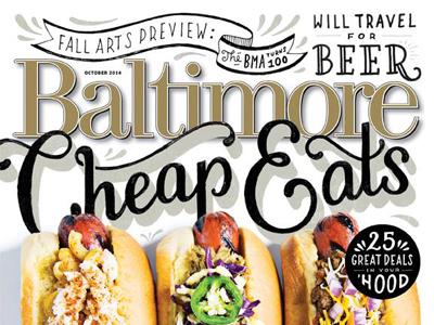 Baltimore Magazine Cheap Eats