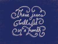 Jeans horizontal
