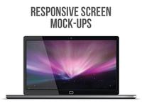 Responsive Screen Mock-Ups