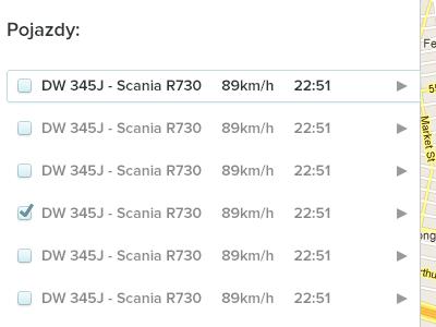 Car list - web app