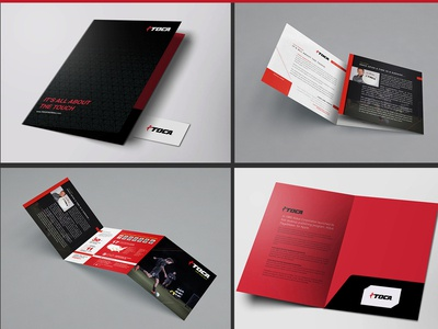 Corporate Folder and Tri-Fold Design