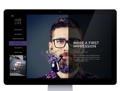 Creative Blog Site Design