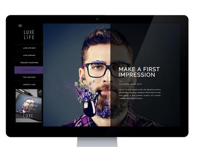 Creative Blog Site Design blog design website design company website design branding