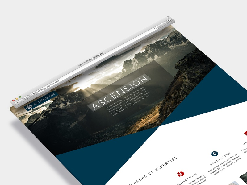 Ascension - An Elegant Theme for WordPress hero image bootstrap website design web design elegant wordpress theme wordpress design