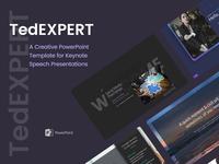TedExpert – a Keynote Speaker PowerPoint Presentation
