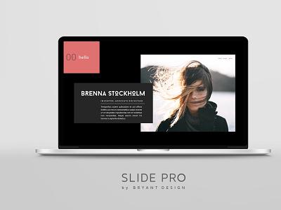 Slide Pro PowerPoint Presentation Brand Style presentation design powerpoint graphic design powerpoint presentation presentation template