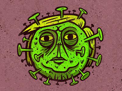 Covfefe-19 sketchbook sketch applepencil ipadpro procreate illustration