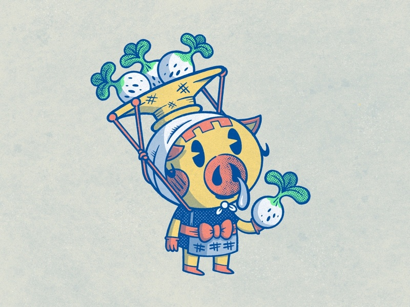 Daisy Mae animalcrossing sketchbook sketch applepencil ipadpro procreate illustration