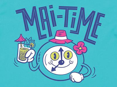 Mai-Time - T-Shirts tiki bar t-shirt design procreate illustration