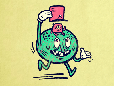 Monster Hat sketch applepencil ipadpro procreate illustration