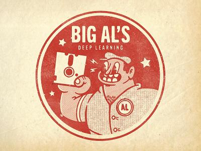 Big Al's Deep Learning illustrator photoshop ipadpro procreate illustration