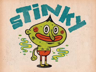 Stinky - Color Lab sketch applepencil ipadpro procreate illustration
