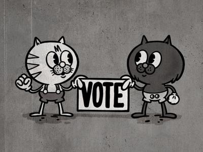 Vote! ipadpro sketchbook sketch procreate illustration