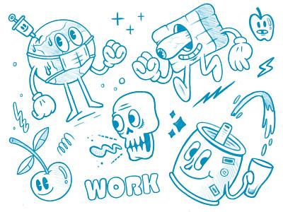 Randoms Sketch ipadpro procreate sketchbook sketch illustration
