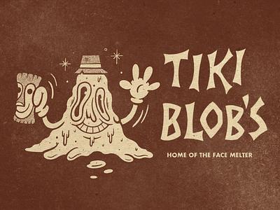 Tiki Blob's tiki bar tiki sketchbook sketch applepencil ipadpro procreate illustration