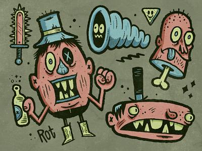 Misfits and Whatnots sketchbook sketch applepencil ipadpro procreate illustration