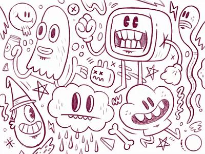 Doodling in Procreate. ipad sketchbook sketch applepencil ipadpro procreate illustration