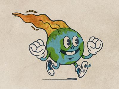 On Fire! sketchbook sketch ipadpro applepencil procreate illustration