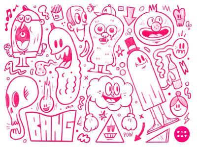 Doodles in Procreate sketchbook sketch applepencil ipadpro procreate illustration
