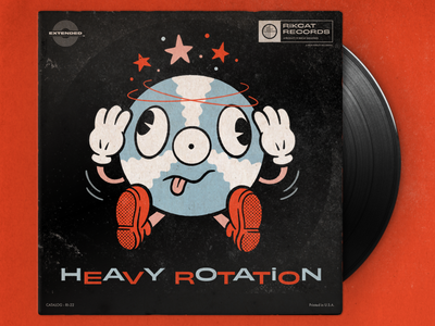 Heavy Rotation retroillustration retro applepencil ipadpro procreate illustration