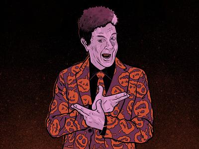 Any Questions? halloween applepencil procreate ipadpro illustration