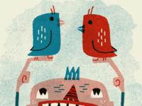 Double Bird in Procreate