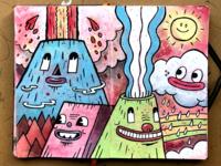 Blow Your Top - Sketchbook