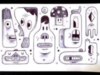 Heads - Sketchbook