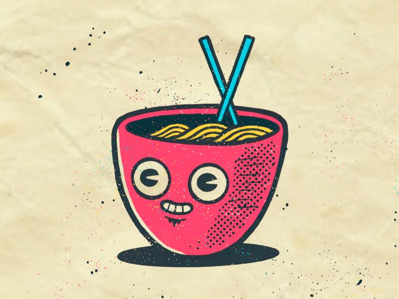 Ramen Dood sketchbook applepencil ipadpro procreate illustration