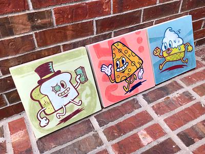 Food Guys - Paintings analog paintings painting