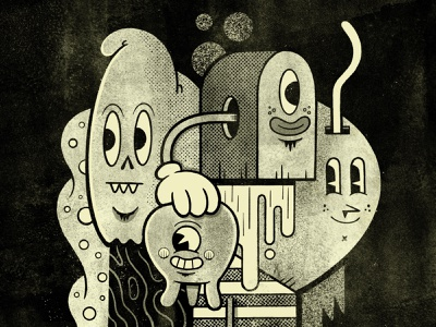 Monochrome sketch applepencil ipadpro procreate illustration