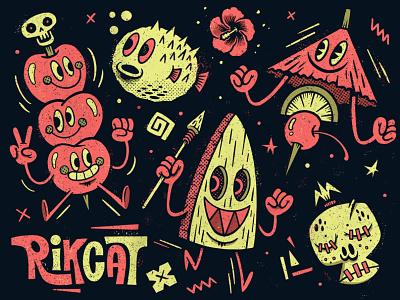Tiki Time sketchbook sketch applepencil ipadpro procreate illustration