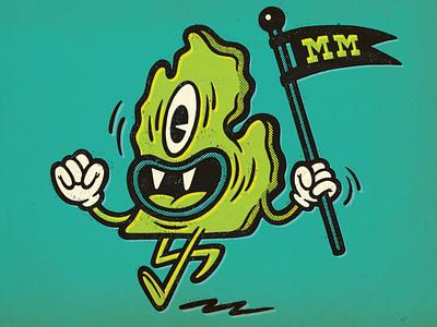 Mitten Monsters Mascot mascot illustrator photoshop applepencil ipadpro procreate illustration