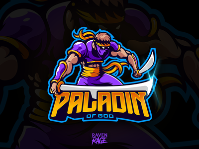 """Paladin of God"" logo for SALE"