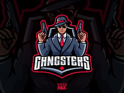 "Logo of team ""Gangsters"" Warface online shooter"