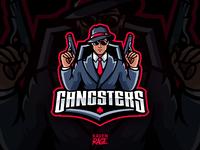 "Logo of team ""Gangsters"" Warface online shooter"