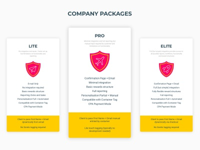 Daily UI Challenge #030 - Pricing rocket 030 dailyui challenge corporate minimal icons pack subscription box pricing plan