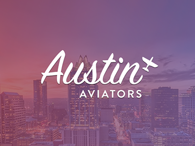 Austin Aviators brand austin aviation